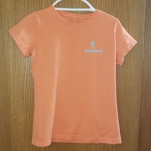 Browning very cute tee peachy